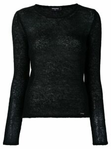 Dsquared2 soft knit jumper - Black