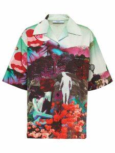 Prada panorama print shirt - Multicolour