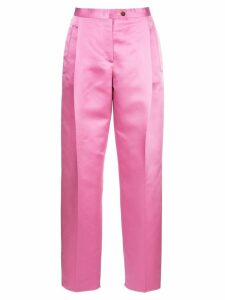 Salvatore Ferragamo high waisted trousers - Pink