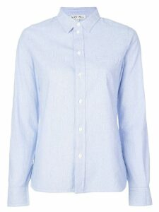 Alex Mill micro-stripes shirt - Blue