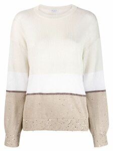 Brunello Cucinelli oversized jumper - Neutrals