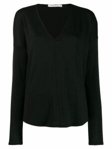 Rag & Bone long-sleeve fitted sweater - Black