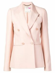 Stella McCartney peak lapel blazer jacket - PINK