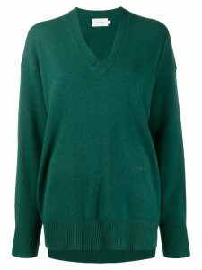 Calvin Klein plain jumper - Green
