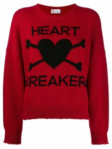 Red Valentino 'Heart Breaker' jumper