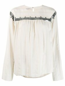 Philosophy Di Lorenzo Serafini sequin embellished blouse - NEUTRALS