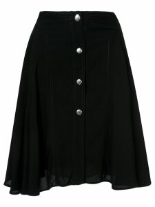 Giambattista Valli button-up midi skirt - Black