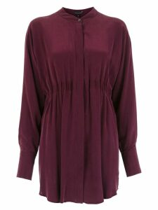 Alcaçuz Luan silk blouse - Purple