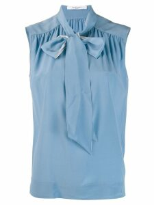Givenchy tie-neck blouse - Blue