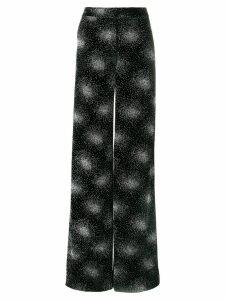 Sonia Rykiel embellished velvet trousers - Black