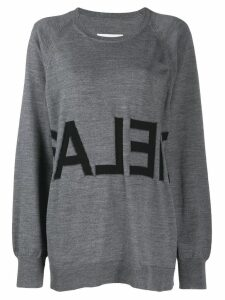 Mm6 Maison Margiela oversized sweater - Grey