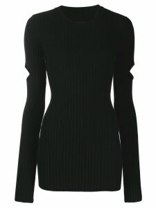 Mm6 Maison Margiela ribbed sweater - Black
