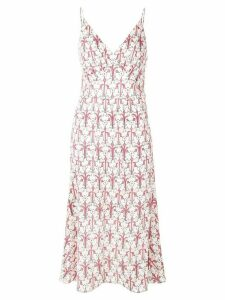 Prada floral print dress - PINK