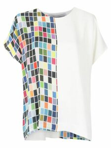 Gloria Coelho printed blouse - White