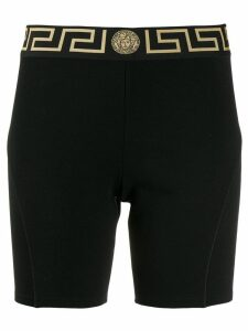 Versace Medusa head fitted shorts - Black