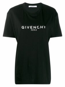 Givenchy oversized logo print T-shirt - Black