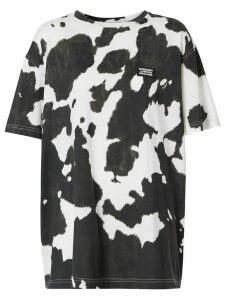 Burberry cow print t-shirt - Black