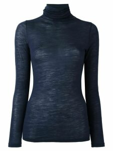 Zanone roll neck jumper - Blue
