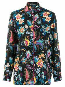 Etro floral print shirt - Black