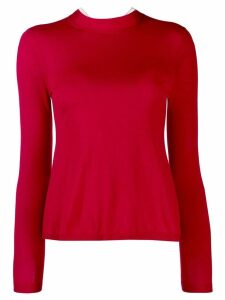 Red Valentino high neck jumper
