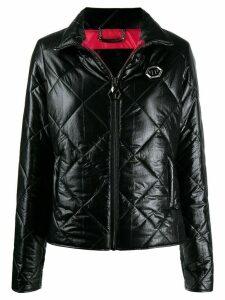 Philipp Plein Crystal jacket - Black