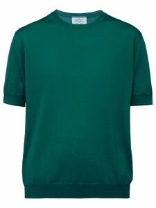 Prada short sleeved knitted blouse - Green