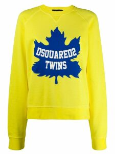 Dsquared2 Twins sweatshirt - Yellow