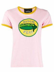 Marc Jacobs peas print T-shirt - Pink