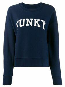 Zadig & Voltaire Funky print sweatshirt - Blue