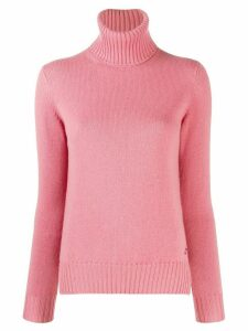 Loro Piana turtle neck jumper - PINK