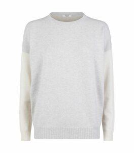 Lurex Patchwork Sweater
