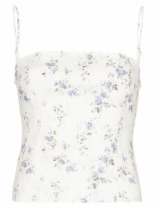 Reformation Overland floral print top - Multicolour