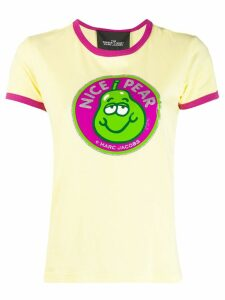 Marc Jacobs The Ringer Nice Pear print T-shirt - Yellow