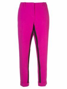 Nº21 interior stripe slim-fit trousers - Pink