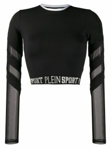 Plein Sport stretch fit top - Black