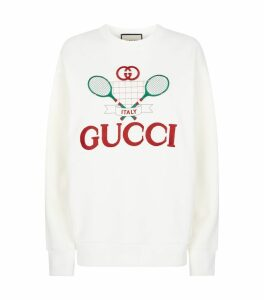 Tennis Graphic Sweatshirt