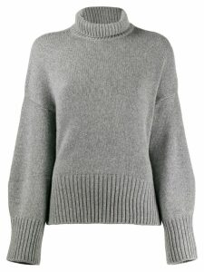 Loro Piana turtle neck jumper - Grey