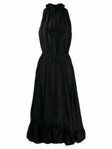 MSGM sleeveless flared dress - Black