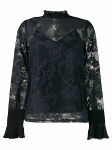 See By Chloé lace embroidered blouse - Blue