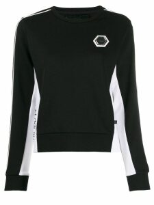 Philipp Plein long sleeved top - Black