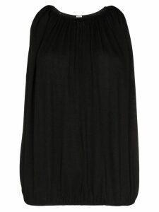 Totême pleated vest top - Black
