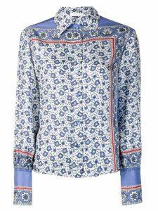 Chloé all-over print shirt - Blue