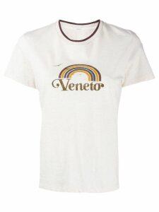 Zimmermann printed T-shirt - NEUTRALS