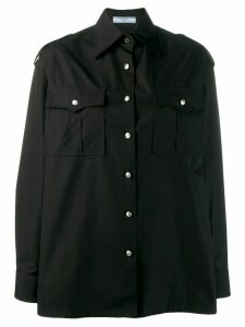 Prada military shirt - Black