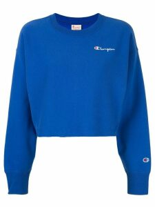 Champion cropped sweatshirt - Blue