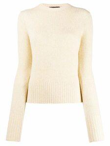 Loro Piana round neck sweater - Yellow
