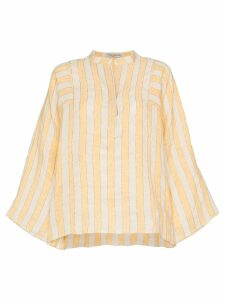 Three Graces Angelique stripe top - NEUTRALS