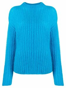 Marni rib knit jumper - Blue