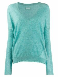 Zadig & Voltaire v-neck jumper - Green