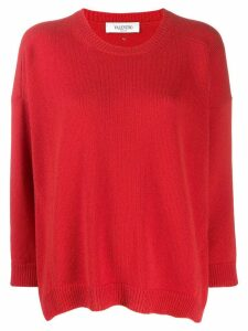 Valentino cashmere crew-neck sweater - Red